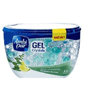 Ambipur Ambientador gel crystals eucalipto & lima 150 g