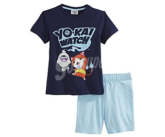 Yokai watch Pijama corto de niño Yokaï Watch, talla 4.