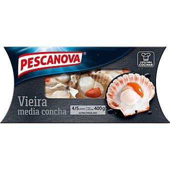 Pescanova Vieira media concha Estuche 400 g neto escurrido