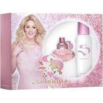 Shakira Colonia para mujer Floral Vaporizador 50 ml + Deo