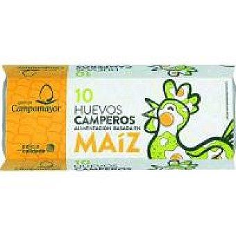 Campomayor Huevo campero de maíz 10 uds