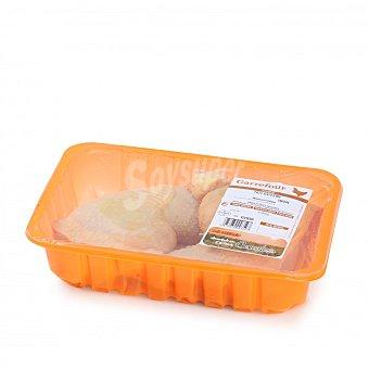 Carrefour Traseros de pollo certificado 880 g aprox