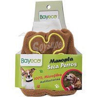 Bayeco Guante microfibra para mascotas Pack 1 unid