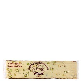 Vicens Turrón de yogur y pistachos 300 g