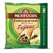 Tortillas de trigo para fajitas 8 ud Mexifoods
