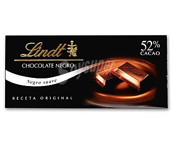 Lindt Chocolate negro 52% cacao Tableta 125 g