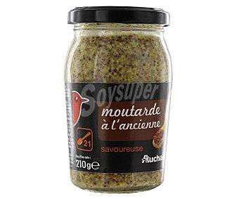 Auchan Mostaza Dijon anciene 210 gramos