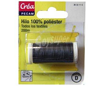 STYLE Hilo de poliéster color gris antracita, 200 metros style