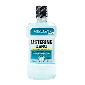 Listerine Enjuague bucal zero alcohol Botella 500 ml