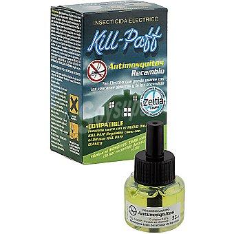 Kill-Paff Insecticida volador electrico antimosquitos recambio