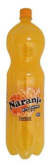 Hacendado Naranja con gas 8 % zumo Botella 2 l