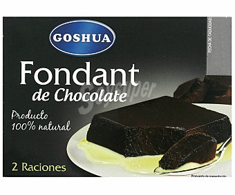 Goshua Fondant Chocolate 2 Unidades