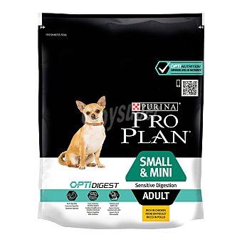 Pro plan opti Pienso para perros adultos Small & Mini digestión sensible 700 gr 700 gr