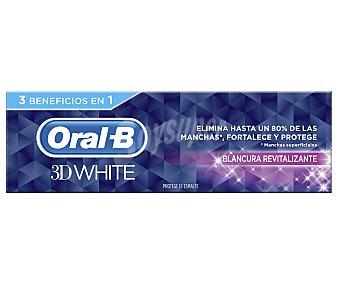 Oral-B Dentífrico 3D White Revitalizante Tubo 75 ml