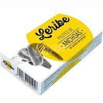 Leribe Filetes de anchoas en aceite de girasol lata 29 g