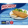 Filetes de merluza empanados Caja 340 g Pescanova