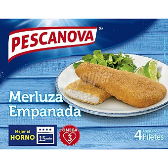 Pescanova Merluza empanada en filetes Paquete 340 g
