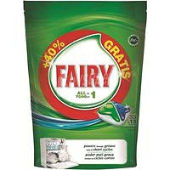 Fairy Lavavajillas máquina Todo en 1 46 dosis