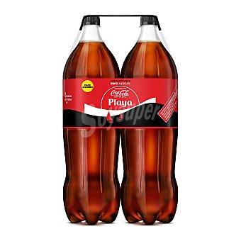 Coca-Cola Coca Cola Zero 2 botellas de 2 litros