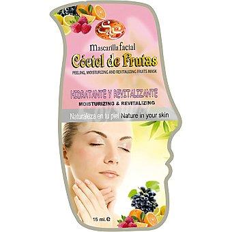 Sys Mascarilla facial cóctel de fruta Hidratante & Revitalizante Envase 15 ml
