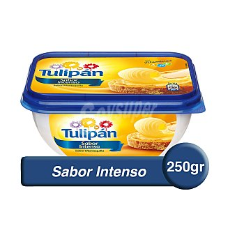 TULIPAN Margarina con sabor a mantequilla envase 250 g