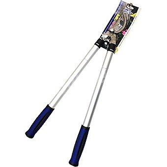 Hipercor Tijera de podar extensible de hoja curva con mango ergonómico de PVC