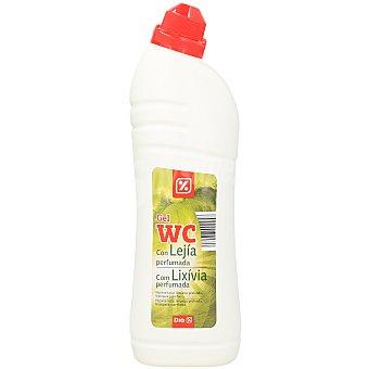 DIA Limpiador gel wc lejía Botella 1lt