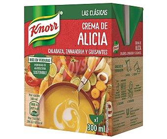 Knorr Crema alicia de calabaza, zanahoria y guisantes 300 ml