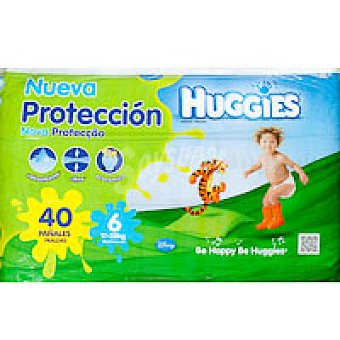 Huggies Pañal Jumbo Talla 6 Paquete 40 unid