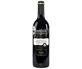 Carta oro Vino Tinto Rioja Joven Etiqueta Negra Botella 75 Centilitros