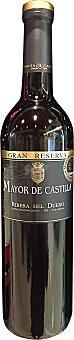 MAYOR DE CASTILLA Vino tinto Ribera del Duero gran reserva Botella de 75 cl