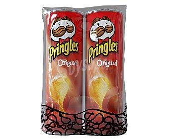 Pringles Patatas con forma de teja original 2 botes de 165 g