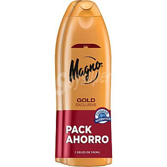 Magno Gel de baño Gold pack 2 botella 550 ml Pack 2 botella 550 ml
