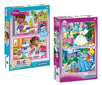 CLEMENTONI Pack de 2 Puzzles de 20 Piezas Disney 1 Unidad