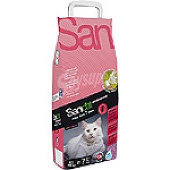 SANICAT PROFESSIONAL ALOE VERA Arena para gato higiénica con efecto ambientador Bolsa 4 l