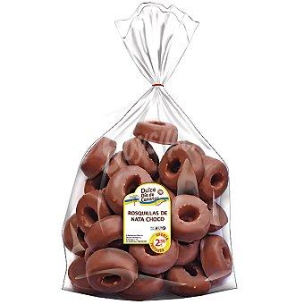 EIDETESA rosquillas nata chocolate  bolsa 400 g
