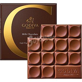 GODIVA Chocolate con leche de origen México tableta 79 g tableta 79 g