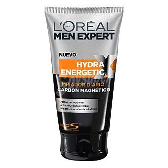Men Expert L'Oréal Paris Gel limpiador carbón magnetico l`oreal Tubo 150 ml