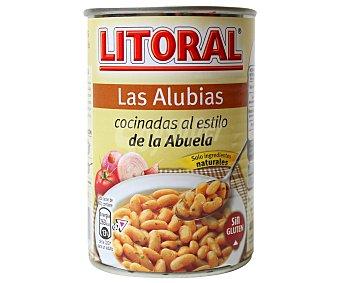 Litoral Alubias de la abuela con ingredientes naturales y sin gluten 440 gramos