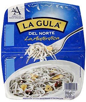 Angulas Aguinaga La Autentica gula del norte  2 raciones de 100 gramos