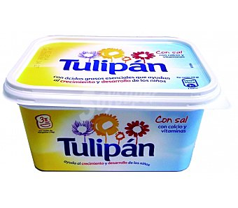 Tulipán Margarina Vegetal con Sal Tarrina 1 Kilogramo