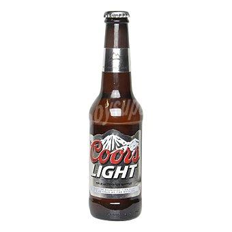 Coors Light cerveza rubia ligera estadounidense Botella 33 cl