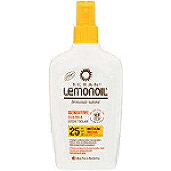 Ecran Lemonoil Bronceador Sensitive aloe F-25 Spray 200 ml