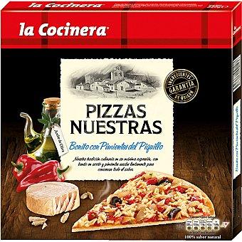 La Cocinera Bonito con Pimientos del Piquillo Pizzas Nuestras Estuche 320 g
