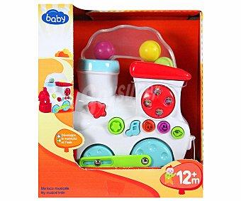 BABY Tren Musical con bolas de colores para el efecto del humo 1 Unidad