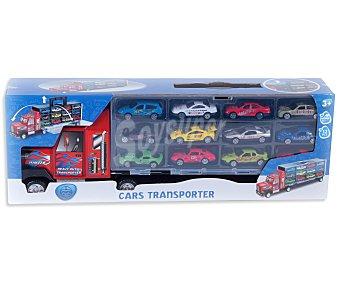 Productos Económicos Alcampo Camión de Transporte de Coches 1 Unidad