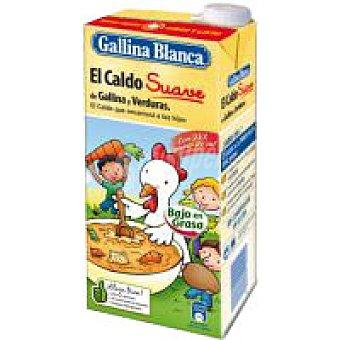 Gallina Blanca Caldo de gallina-verduras Brik 1 litro