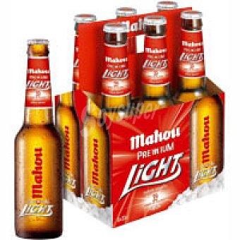 Mahou Cerveza rubia light Botellin pack 6 x 330 cc - 1980 cc