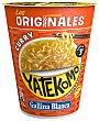 Fideos Orientales con sabor a curry 61 g Yatekomo Gallina Blanca