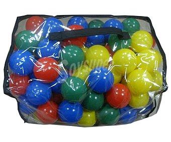 Euraspa Bolsa con bolas de colores de plástico de 65mm. EURASPA.